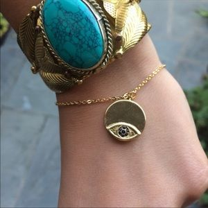 House of Harlow 1960 - Evil Eye Charm Bracelet